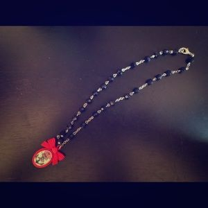 Rockabilly Tattoo Art Necklace